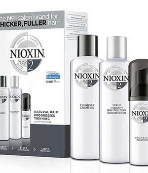 3-СТУПЕНЧАТАЯ СИСТЕМА NIOXIN №2 (150 мл) для натуральных истонченных волос